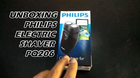 Philips Shaver Electric Pq206 Original Alat Cukur unboxing philips electric shaver pq206 bahasa indonesia