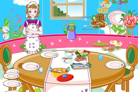 table setting decoration game decorating games games loon