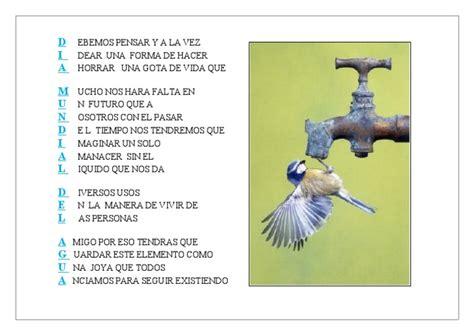 acrostico sobre el agua acrostico dia mundial del agua 2011 1