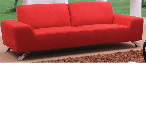 red couch set dreamfurniture com sunset modern red sofa set