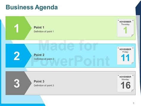 powerpoint meeting agenda template business agenda editable powerpoint template