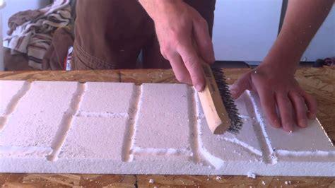 how to make a photo wall декоративный камень из пенопласта как сделать фото