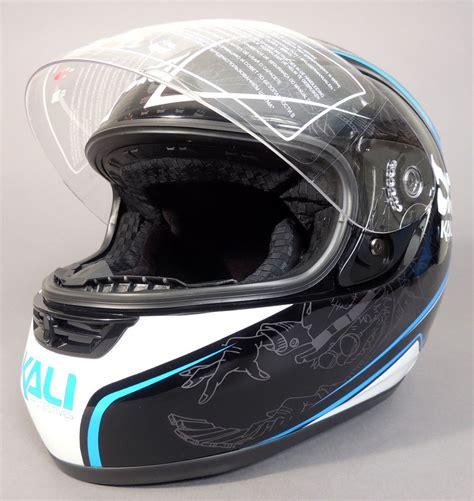 Motorradhelm Klein by New Kali Nira Motorcycle Helmet Bike Shield Small