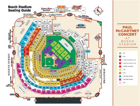 seating chart busch stadium paul mccartney paul mccartney performing at busch stadium in august