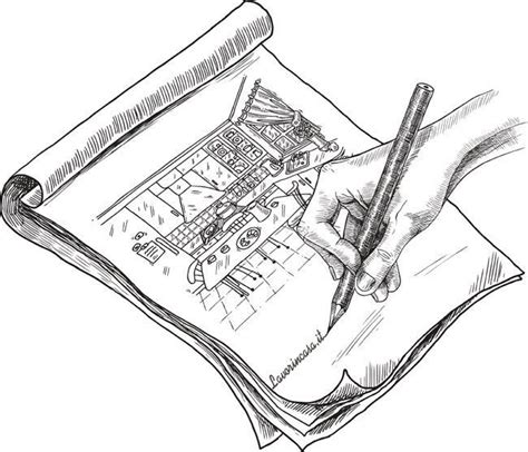 disegnare arredamento progetto arredamento e d interni realizzato a mano libera