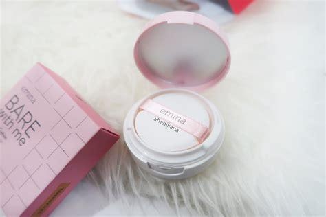 Harga Make Up Emina Dan Gambarnya review emina bare with me mineral cushion 03 caramel