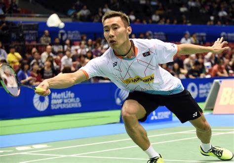 Raket Pemain Dunia chong wei ketuai cabaran pemain tempatan pada malaysia