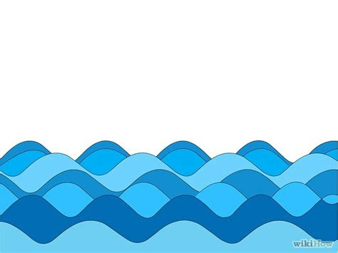 motions of the ocean comic cartoon wave cliparts co