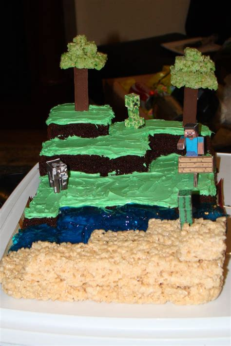 How To Decorate A Minecraft Cake by Images Minecraft Birthday Cakes 2015 House Style Pictures