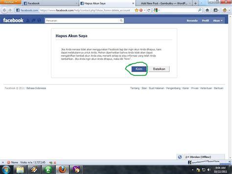 membuat blog jadi keren cara membuat akun facebook jadi keren tutup akun facebook