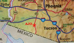 finding us ajo arizona