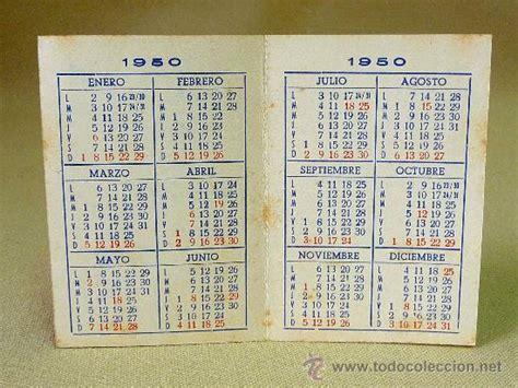 Calendario De 1950 Calendario 1950 Cantos Y Ripoll Valencia Comprar