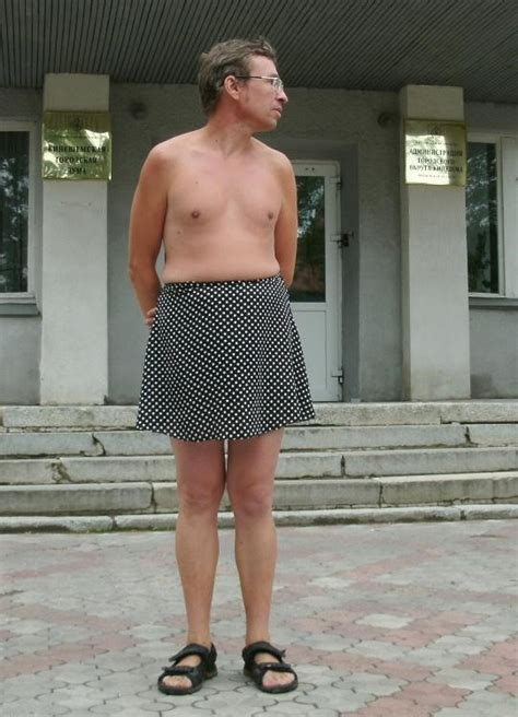 Stories Of Men Wearing Skirts | the story of a man who refuses to wear pants and only puts