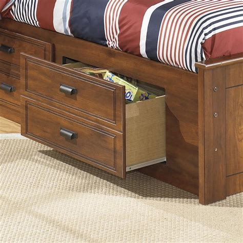 barchan bookcase bed signature design by barchan bookcase bed with