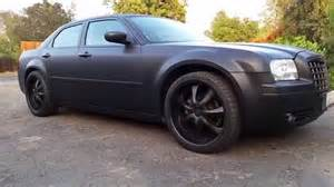 Chrysler 300 Matte Chrysler 300 On 22s Matte Black Plasti Dip