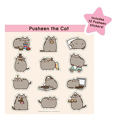 Boneka Pusheen Cat Kucing Grey Abu Abu pusheen the cat 2015 wall calendar buy in uae calendar products in the uae see