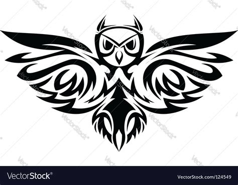 aries sign tribal royalty free vector image vectorstock owl symbol royalty free vector image vectorstock