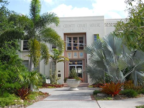 Martin County Fl Court Records Martin County Court House Former Stuart Fl Living New Deal