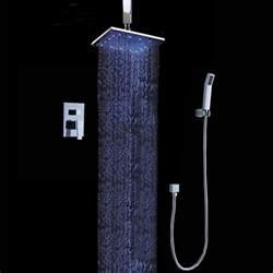 dree ceiling mount led shower system