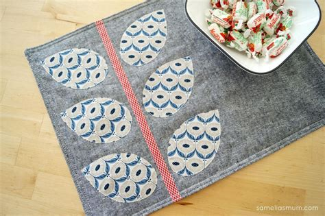 7 FREE Quilted Placemat Patterns You'll Love   On Craftsy!