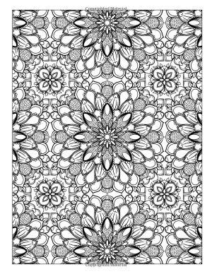 Difficult Coloring Pages For Adults   advanced coloring