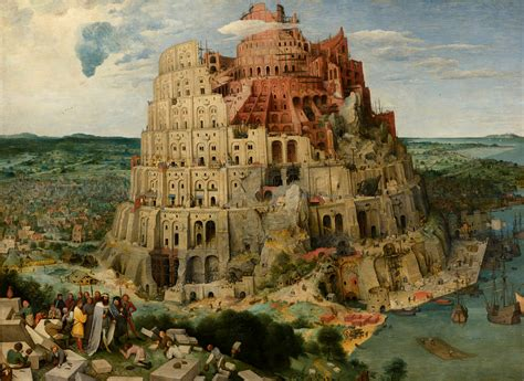 pieter bruegel file pieter bruegel the elder the tower of babel vienna google art project 2 jpg
