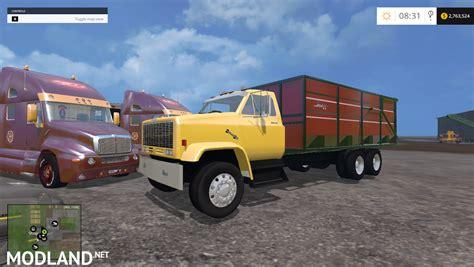 2015 gmc trucks gmc dump truck mod for farming simulator 2015 15 fs