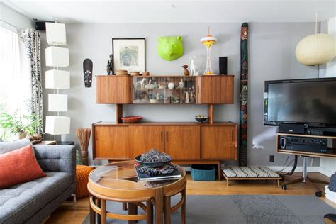 apartment intervention mid century modern get the look mid century modern meets eclectic