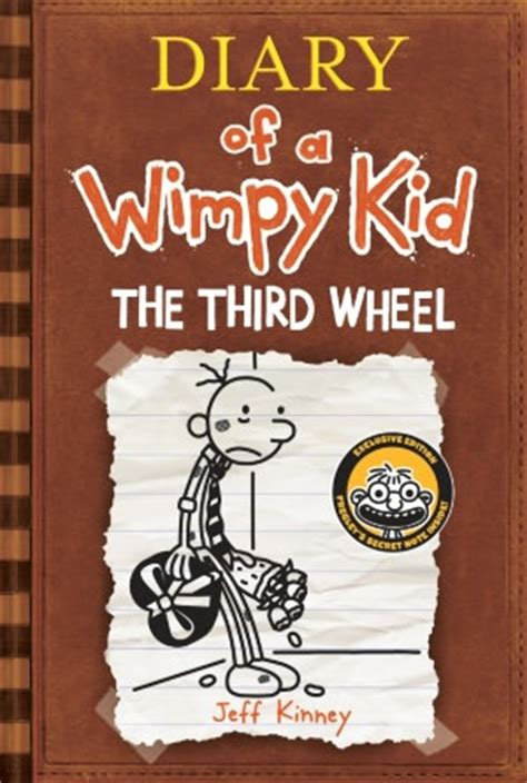 diary of a wimpy kid the third wheel book report on the road with jeff kinney diary of a wimpy kid author