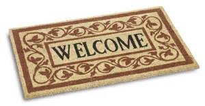 Welcome Mats Vico Large Welcome Coir Door Mat