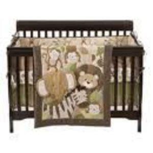 Safari Crib Bedding Set by Small Wonders 4 Zoomba Safari Crib Bedding Set