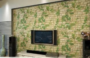 Attrayant Papier Peint Relief Brique #6: 2015-new-3D-self-adhesive-wallpaper-Leaf-font-b-stone-b-font-brick-design-background-wall.jpg