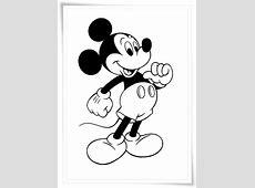 Ausmalbilder zum Ausdrucken: Ausmalbilder Micky Maus Minnie Maus