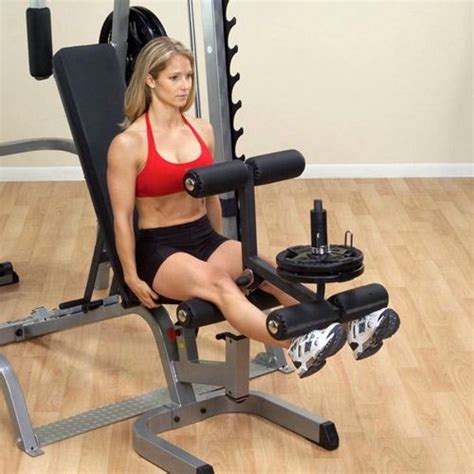 leg bench press machine body solid series 7 smith machine package system gs348qp4