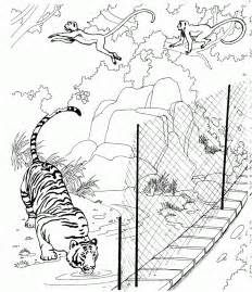 Galerry zoo animal coloring pages for toddlers