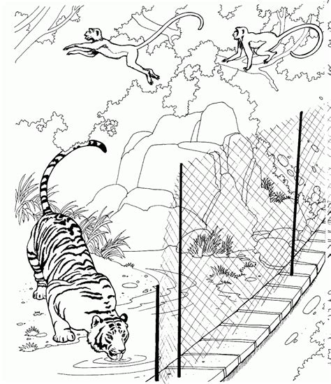 coloring pages wildlife animals free printable zoo coloring pages for kids