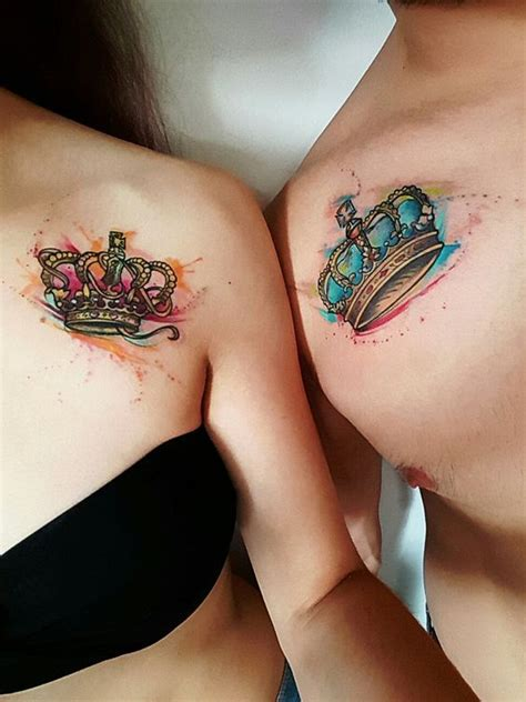 matching crown tattoos matching crown tattoos designs ideas and meaning