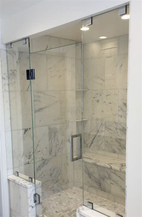 bathroom with glass doors glass shower doors glass shower enclosures flower city