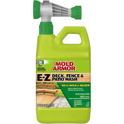 mold armor  oz   deck  fence wash fg