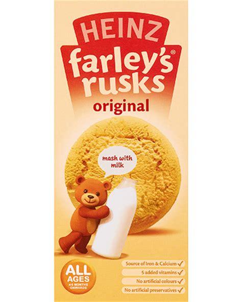 Farleys Rusks Banana breakfast