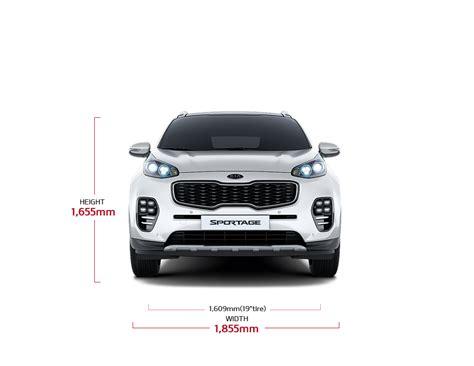 Kia Sportage Dimensions all new sportage specs suv mpv kia motors lebanon