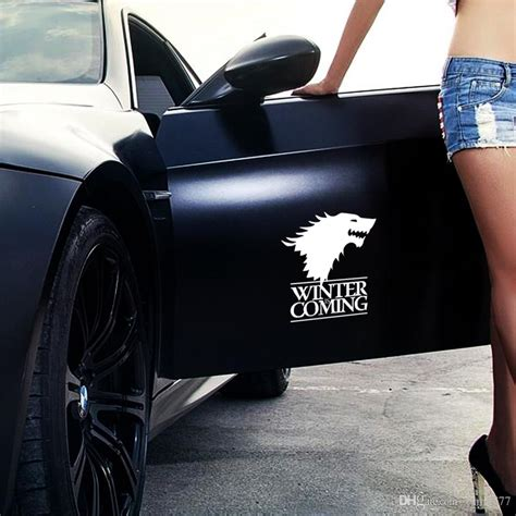Wolf Auto by Best Winter Is Coming Wolf Of Thrones Car Styling