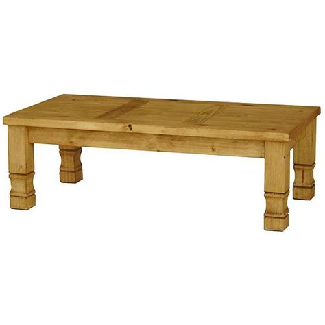 Rustic Pine Coffee Table Rustic Pine Collection Julio Coffee Table Cen18