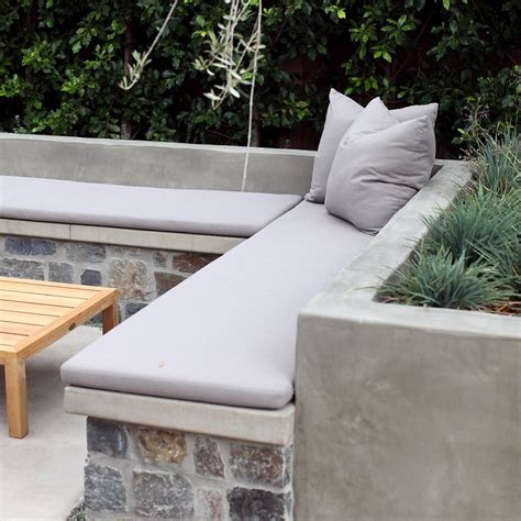 how to build a concrete bench seat 43 best retaining walls seats images on pinterest