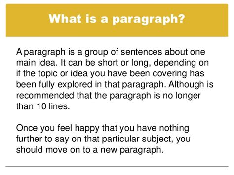 Sentences For Essays by Paragraphs And Topic Sentences
