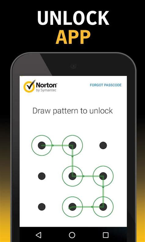pattern lock screen app norton app lock android apps on google play