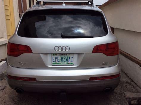 Register Audi by 2007 Register Audi Q7 Autos Nigeria