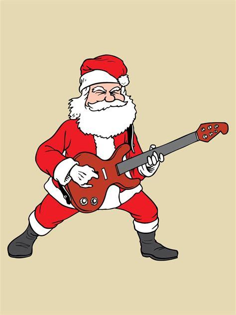 rockin santa christmas ringtones rockin santa tote bag slogan buy at grindstore