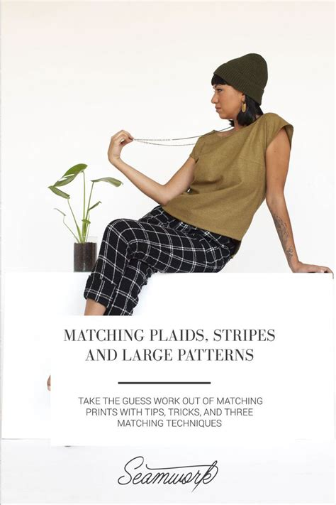 pattern matching tips 130 best images about sewing tips plaids stripes on