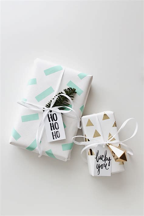 10 easy diy christmas gift wrapping ideas tile mountain